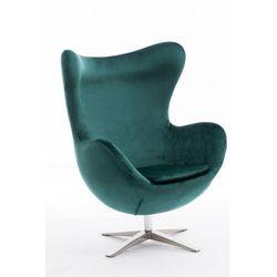 Fotel JAJO velvet zielony