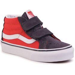 Sneakersy VANS - Sk8-Mid Reissue V VN0A38HHWKX1 (2-Tone)Grenadineperiscop