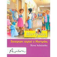 Książki dla dzieci, Martynka. Nowa koleżanka. Zaczynam czytać z Martynką (opr. broszurowa)