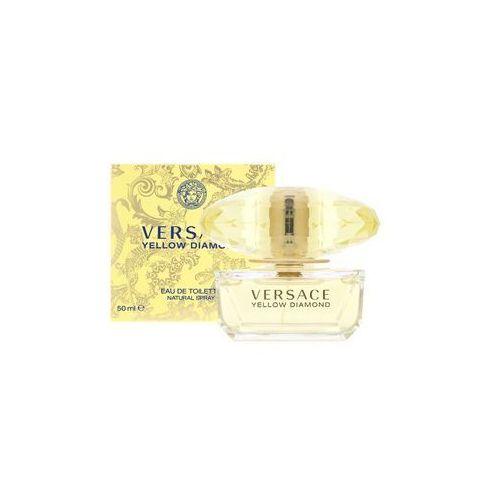 Wody toaletowe damskie, Versace Yellow Diamond Woman 50ml EdT
