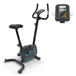 KLARFIT Myon Cycle rower treningowy trenażer domowy masa zamachowa 12kg SmartCardio studio biały