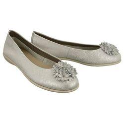 The FLEXX B226/17 Mrs Flower silver, baleriny damskie - Srebrny