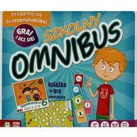 Gry dla dzieci, Szkolny Omnibus Książka + gra edukacyjna - .