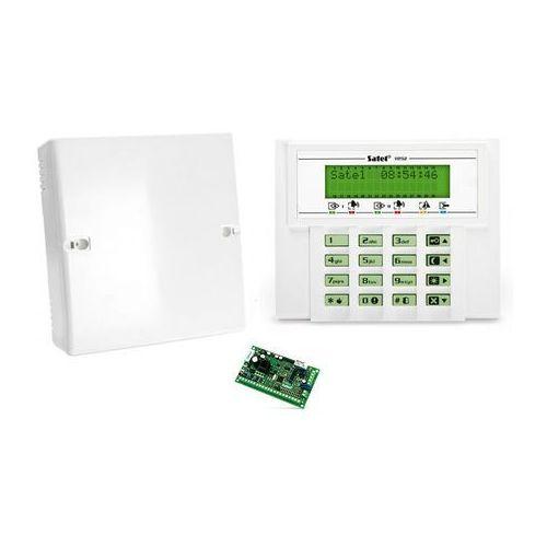 Centralki alarmowe, Komplet: Centrala alarmowa VERSA 5, manipulator VERSA-LCD-GR, obudowa OPU-4 P
