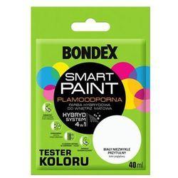 Tester farby SMART PAINT 40 ml Biały niezwykle przytulny BONDEX