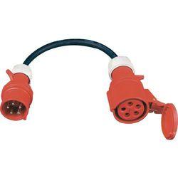 PCE AC540 2m kabel sieciowy 5x4mm / redukcja ze złączami 63A / 32A