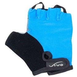 Rękawiczki rowerowe dziecięce Vivo SB-01-3173 blue