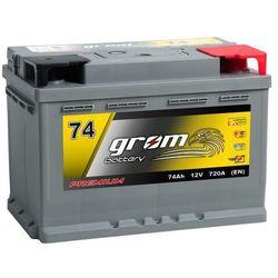 Akumulator GROM Premium 74Ah 720A EN DTR