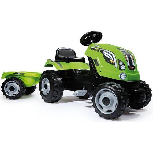 Traktorki do jeżdżenia, Traktor XL zielony SMOBY (7600710111)