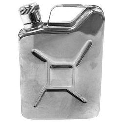 Piersiówka kanister - stal nierdzewna, 170 ml, ciekawy prezent