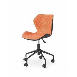 Swage fotel młodzieżowy pomarańczowo-czarny