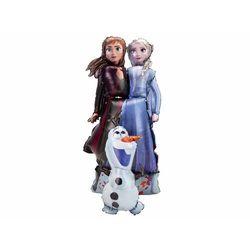 Chodzący balon foliowy Elsa Anna i Olaf - Frozen 2 Kraina Lodu
