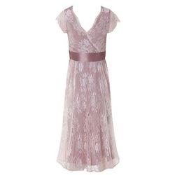 Suknia ślubna ciążowa Eden Pink Blush