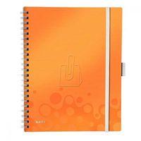 Notesy, Kołonotatnik Leitz Wow A4/80 WOW Be Mobile pomarańczowy 46450044
