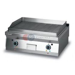 Grill płytowy elektryczny - płyta ryflowana dwie strefy grzewcze Lozamet linia 900 L900.GPE900R