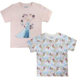 Disney zestaw koszulek dziewczęcych Frozen 104 różowy - BEZPŁATNY ODBIÓR: WROCŁAW!