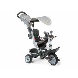 Smoby rowerek trójkołowy Baby Driver Comfort, szary