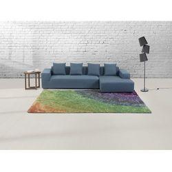 Dywan w kolorach tęczy - 200x230 cm - Shaggy - poliester - BURSA