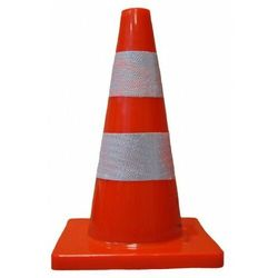 ROAD pachołek drogowy ostrzegawczy pcv 30 cm