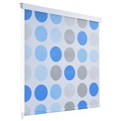 Roleta prysznicowa 180 x 240 cm, wzór w koła