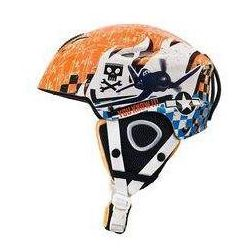 Kask narciarski Samoloty S pomarańczowy