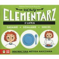 Książki dla dzieci, NOWY ELEMENTARZ 3 LATKA ZADANIE DZIAŁANIE SUKCES (opr. miękka)