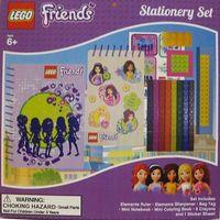 Pozostałe artykuły papiernicze, LEGO FRIENDS Zest. Przyborów Szkolnych + DARMOWY TRANSPORT!