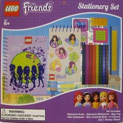 LEGO FRIENDS Zest. Przyborów Szkolnych