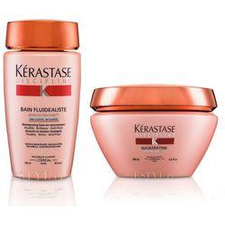 Kerastase Fluidealiste bezsiarczanowy zestaw dyscyplinujący włosy   szampon 250ml + maska 200ml