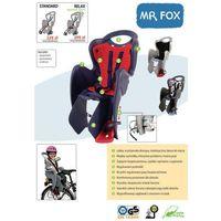 Foteliki rowerowe, Fotelik dziecięcy na rower Bellelli MR Fox Standard - popielaty