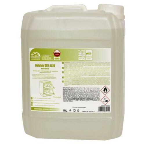 Pozostałe do mycia naczyń, Płyn nabłyszczający do zmywarek Dolphin Dry Acid 10 l