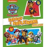 Książki dla dzieci, Psi Patrol. Zabawy z naklejkami. Zbiórka w bazie (opr. broszurowa)