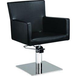 Fotel fryzjerski Isadora Czerwony/Czarny 48h Ayala