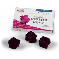 Tusze do drukarek, Wyprzedaż Oryginał Kostki barwiące Xerox do Phaser 8400 | 3 400 str. | magenta