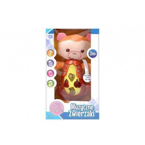 Interaktywne dla niemowląt, Zabawka muzyczna - Misiu - Artyk. DARMOWA DOSTAWA DO KIOSKU RUCHU OD 24,99ZŁ