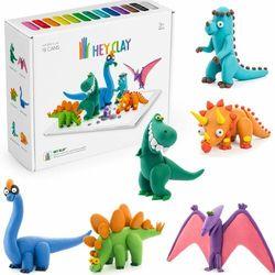 Hey clay masa plastyczna dinozaury hclse006