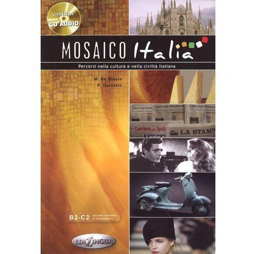 Książki do nauki języka, Mosaico Italia (opr. miękka)