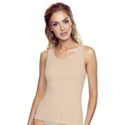 Clarissa koszulka bawełniana damska Eldar Romantica Beżowa Letnia I (-7%)