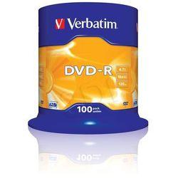 DVD-R VERBATIM 4.7GB 16x CAKE 100 SZT