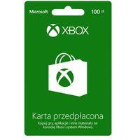 Klucze i karty przedpłacone, Karta przedpłacona MICROSOFT Xbox Live o wartości 100zł + DARMOWY TRANSPORT!