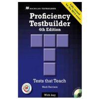 Książki do nauki języka, Proficiency Testbuilder. Książka z Kluczem + CD (opr. miękka)