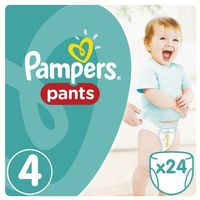 Pieluchy jednorazowe, Pampers, Active Baby Pants. Pieluchomajtki, rozmiar 4 Maxi, 24 sztuki - Pampers