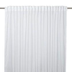 Firana GoodHome Kymbe 280 x 260 cm biała