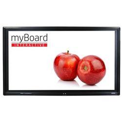 """Monitor interaktywny myBoard Black LED 65"""" 4K UHD z Androidem + OPS Plus i3-6100"""