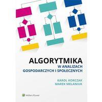 Biblioteka biznesu, Algorytmika w analizach gospodarczych i społecznych - Dostawa 0 zł (opr. miękka)