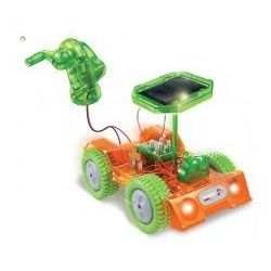 POWERplus Grasshopper - samochód zabawka zasilany solarnie i na dynamo