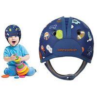 Kaski ochronne dla dzieci, Kask ochronny do nauki chodzenia 7-24msc SAFEHEAD - sport