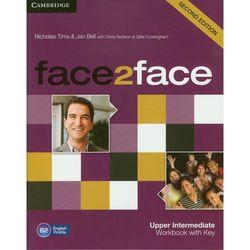Face2face 2ed Upper-Intermediate Workbook With Key (opr. miękka)