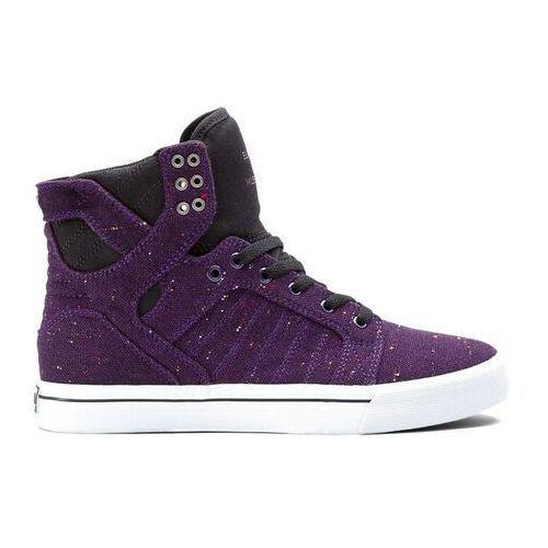 Męskie obuwie sportowe, buty SUPRA - Skytop Purple/Black (PRB) rozmiar: 38.5