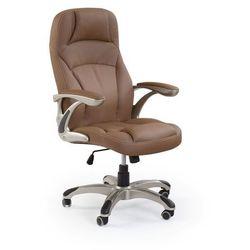 Fotel gabinetowy obrotowy HALMAR CARLOS czarny - ZŁAP RABAT: KOD50